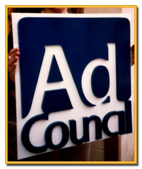 Ad Council Cut Sinta Sign