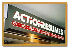 Action Resume Sign