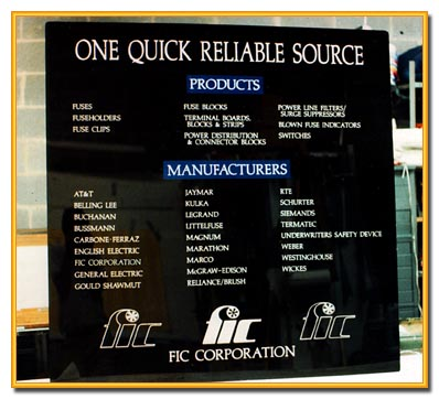 Acrylic Screened Sign